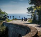 Cykla längst Adriatiska kusten