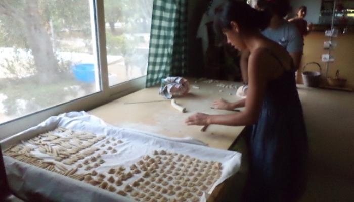 göra pasta för hand
