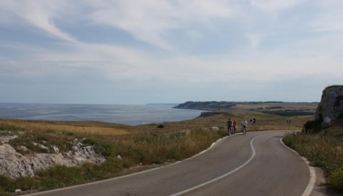 Adriatiska kusten i Salento
